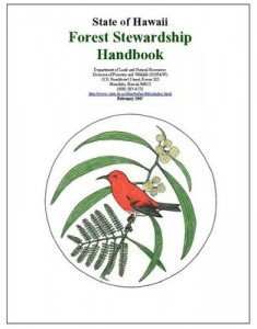 Hawaii Forest Steward Program Booklet Picture