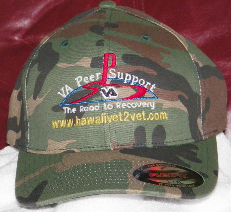 Hawaii Vet 2 Vet Camoflage Hat